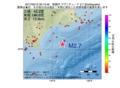 地震震源マップ:2017年02月15日 00時10分 釧路沖 M2.7