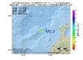 地震震源マップ:2017年02月16日 04時40分 石川県西方沖 M5.3