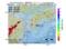 地震震源マップ:2017年02月16日 09時50分 愛媛県南予 M2.5