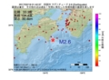 地震震源マップ:2017年02月18日 01時42分 四国沖 M2.6