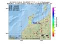 地震震源マップ:2017年02月18日 11時33分 富山県西部 M3.7