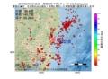 地震震源マップ:2017年02月18日 12時48分 茨城県沖 M2.8