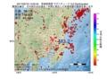 地震震源マップ:2017年02月18日 14時05分 茨城県南部 M3.2