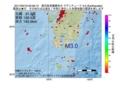 地震震源マップ:2017年02月19日 00時09分 鹿児島県薩摩地方 M3.0