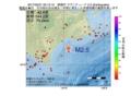 地震震源マップ:2017年02月21日 05時12分 釧路沖 M2.5