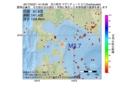地震震源マップ:2017年02月21日 14時18分 苫小牧沖 M2.7