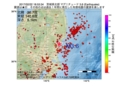 地震震源マップ:2017年02月22日 18時53分 茨城県北部 M3.6