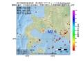 地震震源マップ:2017年02月23日 08時33分 苫小牧沖 M2.5