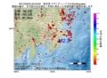 地震震源マップ:2017年02月23日 23時43分 東京湾 M2.9