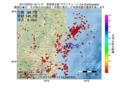 地震震源マップ:2017年02月24日 16時11分 茨城県北部 M2.9