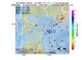地震震源マップ:2017年02月25日 15時02分 苫小牧沖 M3.0