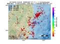地震震源マップ:2017年02月25日 15時52分 茨城県北部 M2.8