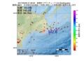 地震震源マップ:2017年02月25日 21時56分 釧路沖 M2.6