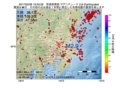 地震震源マップ:2017年02月26日 19時33分 茨城県南部 M2.9