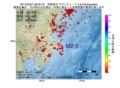 地震震源マップ:2017年02月27日 08時20分 茨城県沖 M2.6