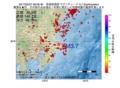 地震震源マップ:2017年02月27日 08時26分 茨城県南部 M3.7