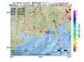 地震震源マップ:2017年02月27日 10時32分 静岡県西部 M2.6