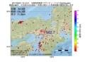 地震震源マップ:2017年03月01日 19時12分 兵庫県南東部 M2.7