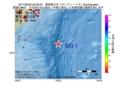 地震震源マップ:2017年03月02日 00時38分 関東東方沖 M3.1