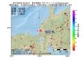 地震震源マップ:2017年03月02日 06時50分 福井県嶺北 M2.6