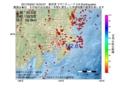 地震震源マップ:2017年03月02日 19時02分 東京湾 M2.6