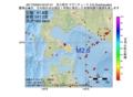 地震震源マップ:2017年03月04日 04時07分 苫小牧沖 M2.6