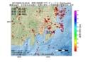 地震震源マップ:2017年03月05日 00時49分 神奈川県東部 M3.1