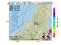 地震震源マップ:2017年03月05日 05時59分 新潟県下越地方 M3.0