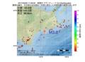地震震源マップ:2017年03月05日 17時46分 釧路沖 M3.0