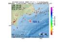 地震震源マップ:2017年03月07日 18時45分 釧路沖 M4.6