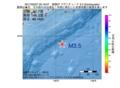 地震震源マップ:2017年03月07日 20時19分 釧路沖 M3.5