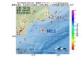地震震源マップ:2017年03月07日 23時04分 釧路沖 M2.5