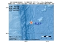 地震震源マップ:2017年03月08日 05時29分 八丈島東方沖 M3.4