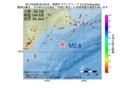 地震震源マップ:2017年03月08日 06時29分 釧路沖 M2.6