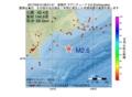 地震震源マップ:2017年03月10日 08時01分 釧路沖 M2.6