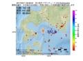 地震震源マップ:2017年03月11日 09時08分 苫小牧沖 M2.8