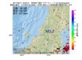 地震震源マップ:2017年03月11日 16時00分 新潟県下越沖 M3.2