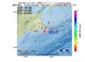 地震震源マップ:2017年03月11日 21時13分 釧路沖 M3.0