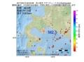 地震震源マップ:2017年03月13日 00時23分 苫小牧沖 M2.5
