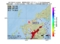 地震震源マップ:2017年03月13日 14時33分 福岡県北西沖 M3.5