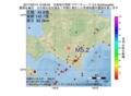 地震震源マップ:2017年03月14日 12時56分 日高地方西部 M5.2