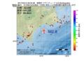 地震震源マップ:2017年03月15日 09時34分 釧路沖 M2.8