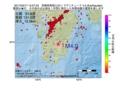地震震源マップ:2017年03月17日 15時57分 宮崎県南部山沿い M4.0