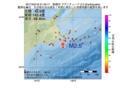 地震震源マップ:2017年03月18日 21時43分 釧路沖 M2.5