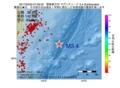 地震震源マップ:2017年03月20日 07時39分 関東東方沖 M3.4