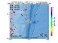 地震震源マップ:2017年03月21日 09時38分 三陸沖 M2.7