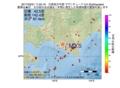 地震震源マップ:2017年03月21日 11時05分 日高地方中部 M3.5