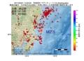 地震震源マップ:2017年03月21日 14時02分 茨城県沖 M2.5
