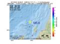地震震源マップ:2017年03月21日 22時36分 佐渡付近 M3.6