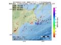 地震震源マップ:2017年03月22日 21時12分 釧路沖 M3.2
